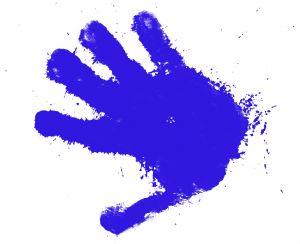 Hand gebaar