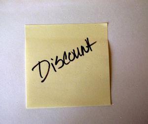 Onderhandelen over korting in sales